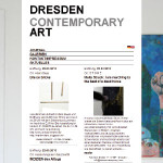 Preview for DCA Online // dresdencontemporaryart.com
